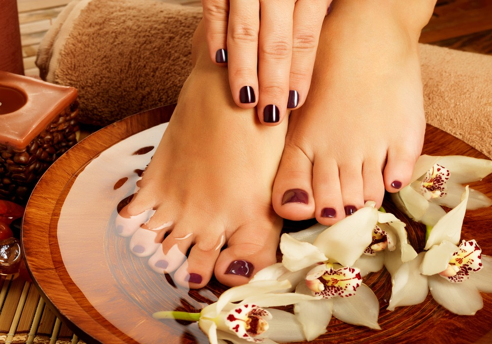 GEL PEDICURE $55