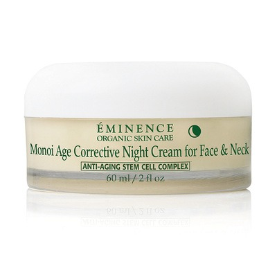 Monoi Age Corrective Night Cream for Face Neck-Eminence